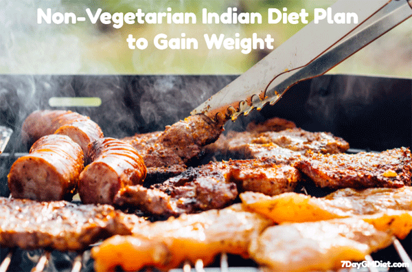 Non-Vegetarian Diet for Weight Gain