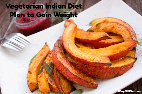 3000 Cal Indian Diet Chart for Weight Gain in 30 Days (Veg & Non
