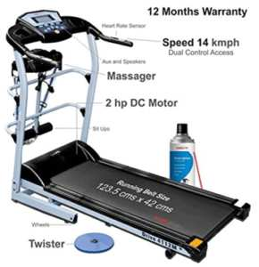 healthgenie 7 in 1 treadmill