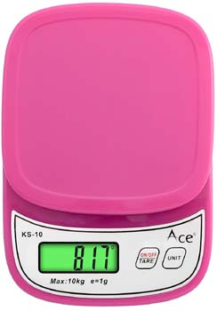 ace pink color food weight machine