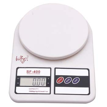 bulfyss weighing machine for kitchen