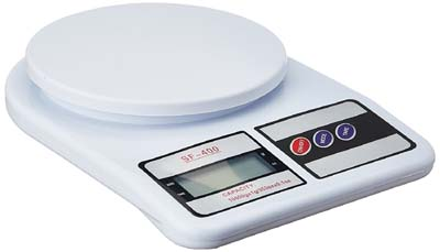 generic food weight scale for kitchen