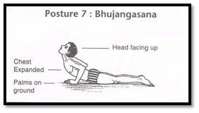 Surya Namaskar Pose 7 - Bhujangasana
