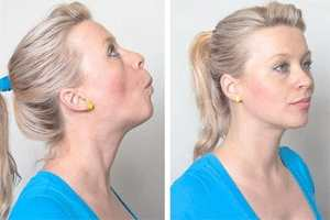 lip pulling exercise for fat