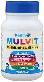 healthvit multi-vitamin caplets