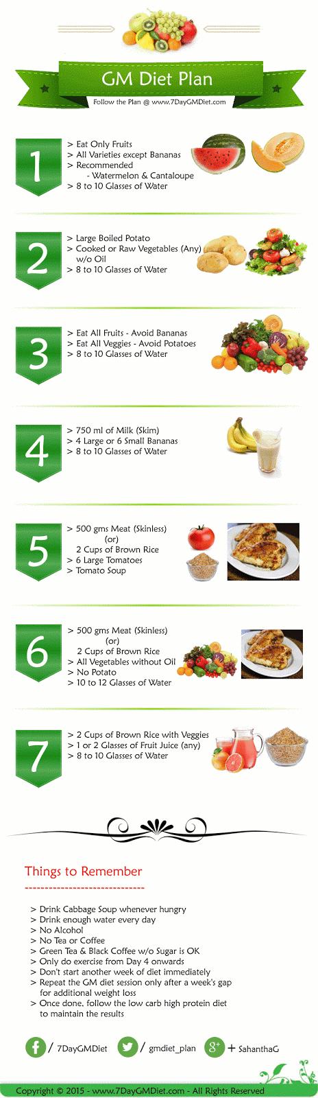 Gm Diet Plan Reviews Benefits Drawbacks Meal Plan