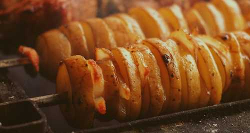 Grilled Potatoes Recipe for GM diet Vegetarian Followers