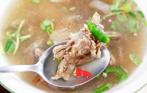 Beef Soup Recipe with Vegetables