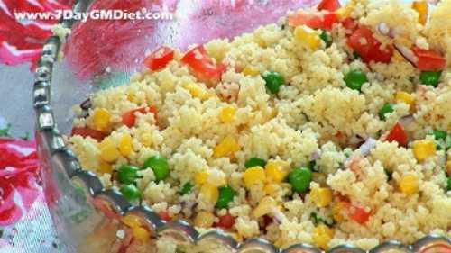 Couscous vegetable recipe